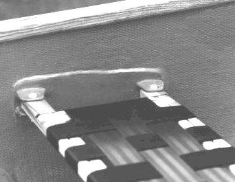Seat bracket detail